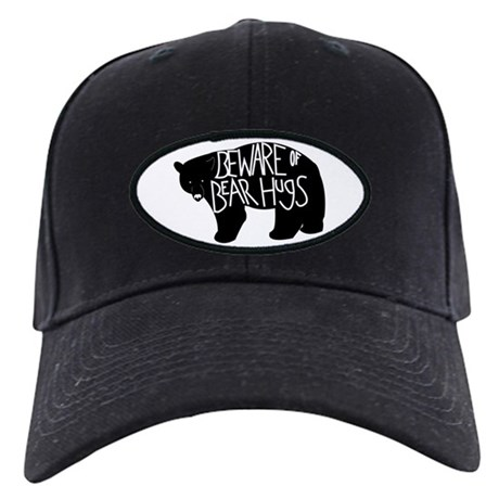 Bear Hugs Black Black Cap