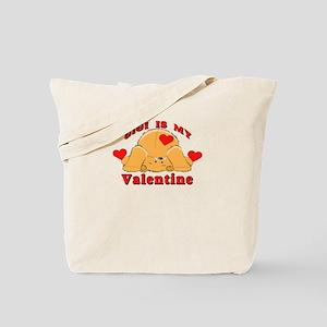 Gigi My Valentine Tote Bag