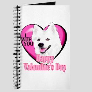 American Eskimo Valentines Journal