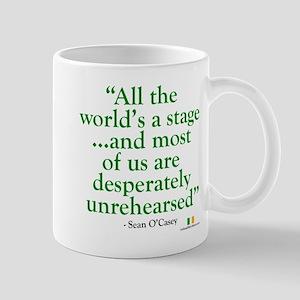 The World Is An Irish Stage Mug