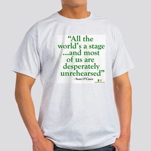 The World Is An Irish Stage Light T-Shirt