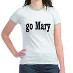 go Mary Jr. Ringer T-Shirt