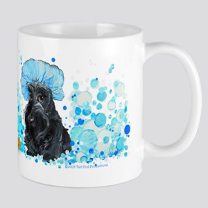Scottish Terrier Bubble Bath Mug