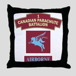 1st Can Para Batt Throw Pillow