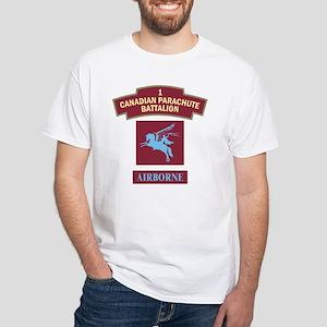 1st Can Para Batt White T-Shirt