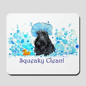 Scottish Terrier Bubble Bath Mousepad