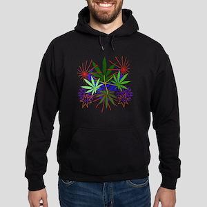 Marijuana Art Hoodie (dark)