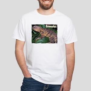 Uromastyx White T-Shirt