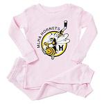 Hornets Toddler Pink Pajamas