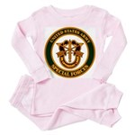 U.S. ARMY SPECIAL FORCES Toddler Pink Pajamas