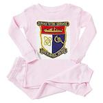USS HAMUL Toddler Pink Pajamas