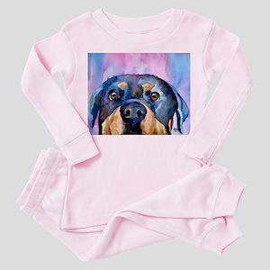Rotty #2 Toddler Pink Pajamas