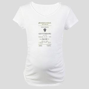 PRR-1910-EXCURSION Maternity T-Shirt
