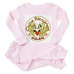 China Blessings Toddler Pink Pajamas