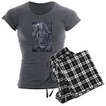 Bold Lion Women's Charcoal Pajamas