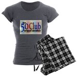 The 50 Club Women's Charcoal Pajamas
