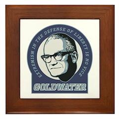 Barry Goldwater Framed Tile