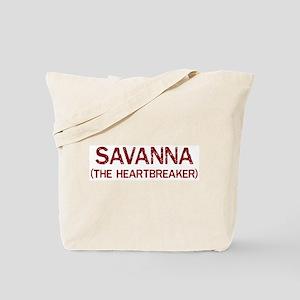 Savanna the heartbreaker Tote Bag