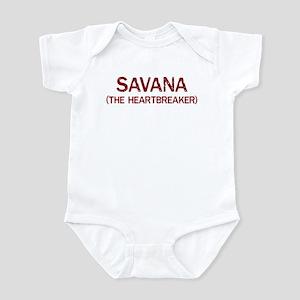 Savana the heartbreaker Infant Bodysuit
