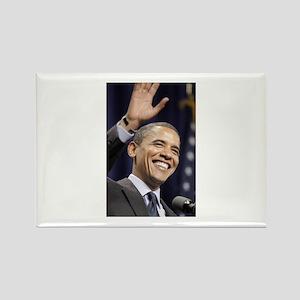 Barak Obama Rectangle Magnet