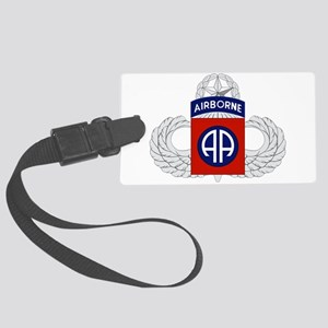 82nd Airborne Master Large Luggage Tag
