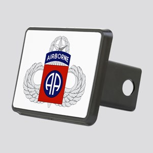 82nd Airborne Master Rectangular Hitch Cover