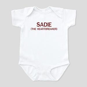 Sadie the heartbreaker Infant Bodysuit