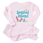 Sanibel Island - Baby Pajamas