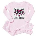 Check Meowt Baby Pajamas