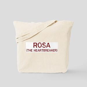 Rosa the heartbreaker Tote Bag