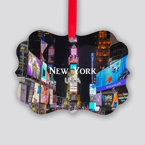 New York Picture Ornament