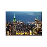 New York Rectangle Magnet (10 pack)