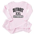 Detroit Strong Baby Pajamas