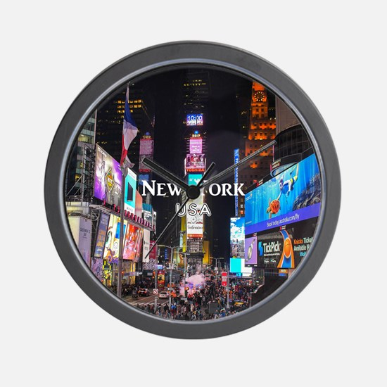New York Wall Clock