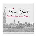 New York Tile Coaster