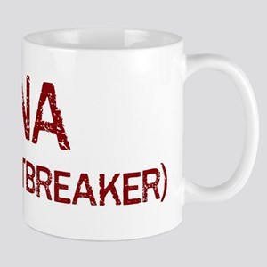Nina the heartbreaker Mug