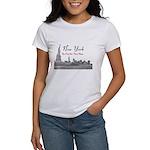 New York Women's Classic White T-Shirt