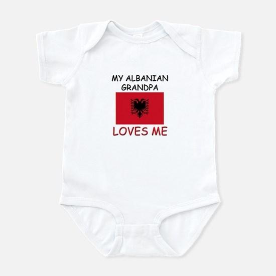 My Albanian Grandpa Loves Me Infant Bodysuit