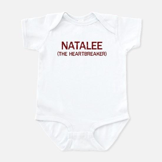 Natalee the heartbreaker Infant Bodysuit