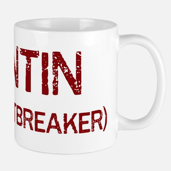 Quintin the heartbreaker Mug