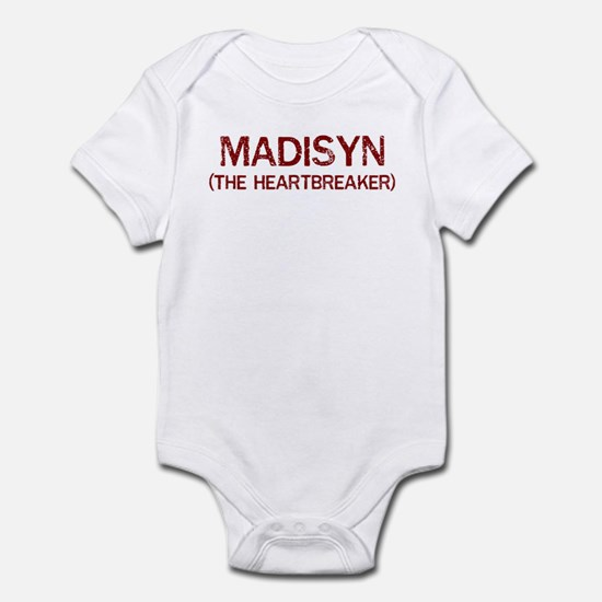 Madisyn the heartbreaker Infant Bodysuit