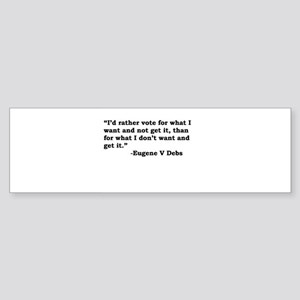 Eugene Debs Bumper Sticker