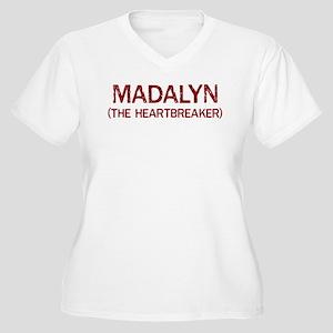 Madalyn the heartbreaker Women's Plus Size V-Neck