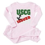 USCG Issued Baby Pajamas