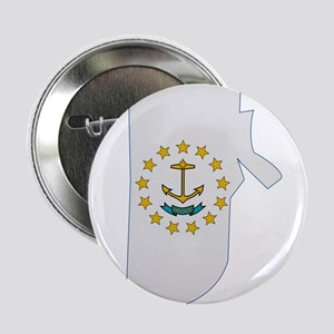 "Rhode Island Stripe Custom De 2.25"" Button"