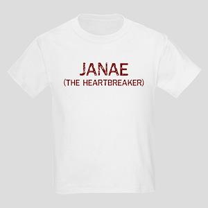 Janae the heartbreaker Kids Light T-Shirt