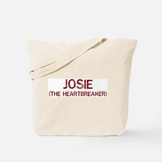Josie the heartbreaker Tote Bag