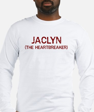 Jaclyn the heartbreaker Long Sleeve T-Shirt