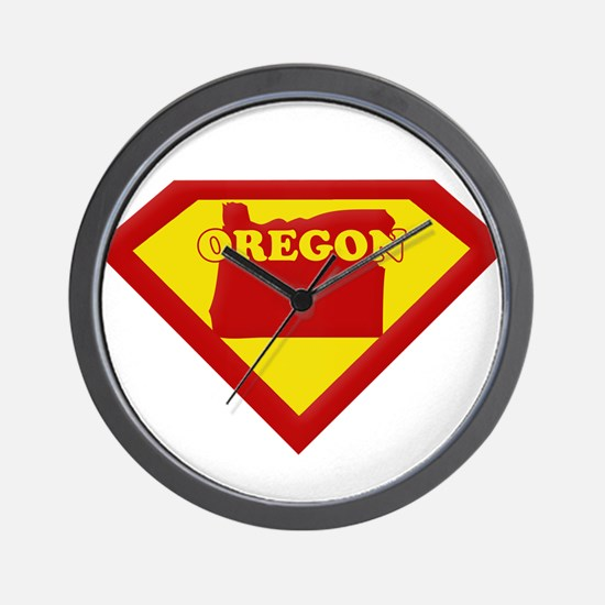 Super Star Oregon Wall Clock