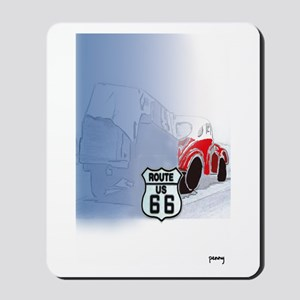 Packin it up on Route 66 Mousepad